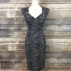 White House Black Market Fitted Dress